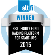 AltFi Awards: Winner Best Equity Fund Raising Platform for Startups