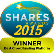 Shares Awards 2015: Winner Best Crowdfunding Platform